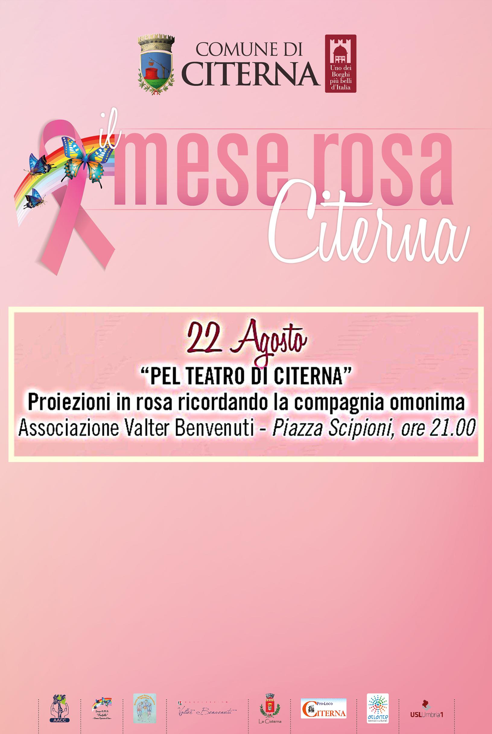MeseRosa pel teatro - Mese Rosa
