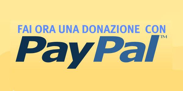 donazione paypal - Donazioni con Paypal
