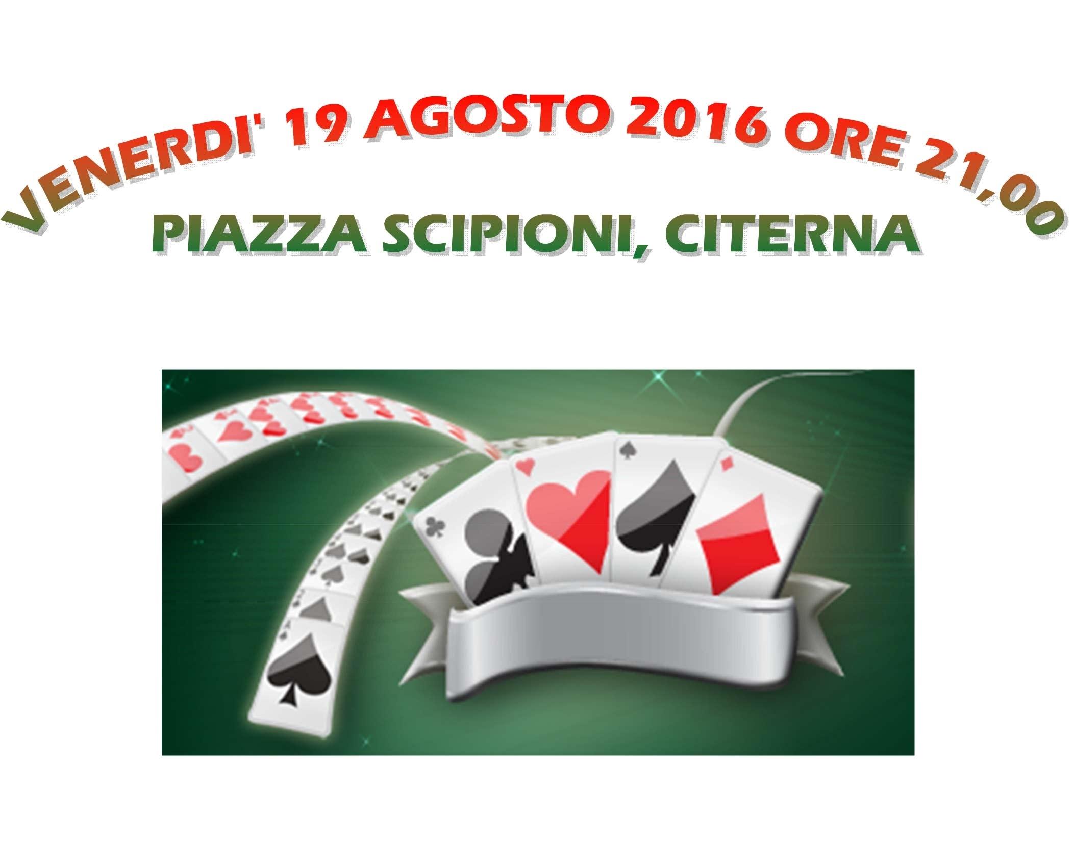 Burraco 2016 titolo - Burraco 2016